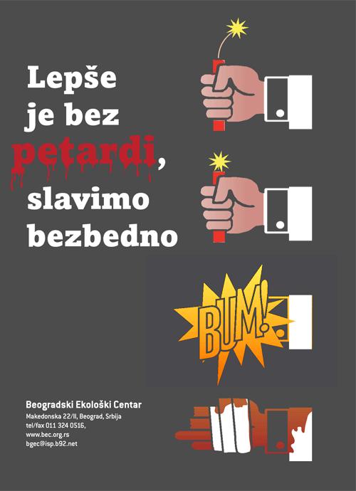 Belgrade City Council Firework Safety Print Toby Brundin