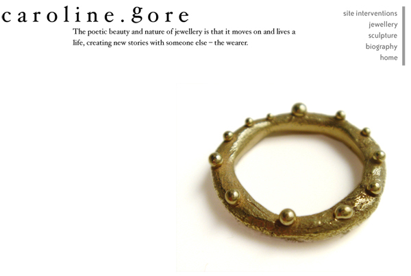 Caroline Gore Jewelry Website karlyhandcom