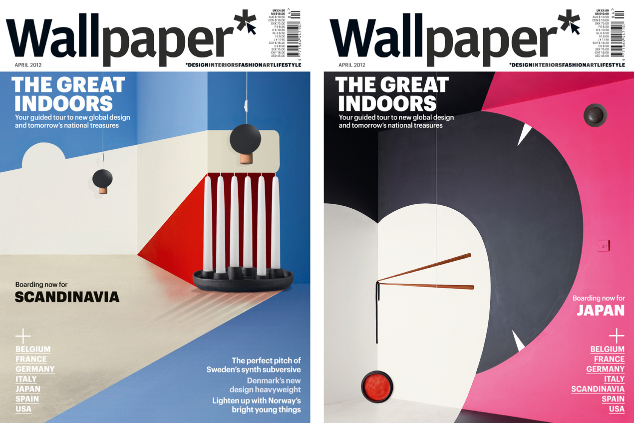 Wallpaper magazine luke kirwan photography for Swedish design magazine